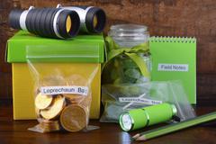 Catch a Leprechaun Kit - stock photo