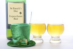 St Patricks Day Irish Whisky - stock photo