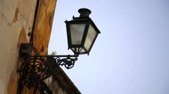 street lamp Tomar - stock footage