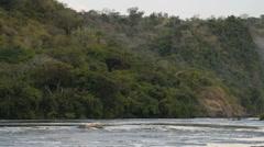 Murchison Falls, Murchison Falls National Park, Uganda, Africa Stock Footage