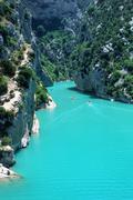 Gorges de Verdon, Alpes de Haute Provence Stock Photos