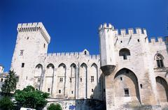 Palais des Papes, Avignon Stock Photos