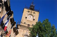 Hotel de Ville, Aix-en-Provence - stock photo