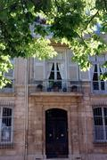House on Place des 4 Dauphins, Aix-en-Provence - stock photo