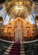Stock Photo of Altar of the Church of the Savior on Spilled Blood