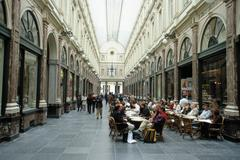 Arcade, Brussels, Belgium - stock photo