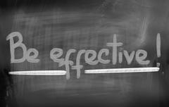 Be Effective Concept Piirros