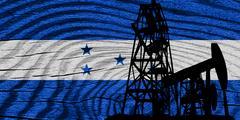 Honduras flag - stock illustration