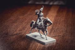 Figurine soldier, Russian dragoon Stock Photos