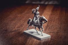 Figurine soldier, Russian dragoon - stock photo