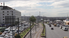 Avenue in Istanbul Stock Footage