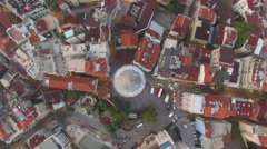 Istanbul Galata Tower Stock Footage
