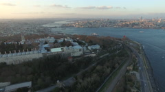 Istanbul and Topkapi Palace Stock Footage