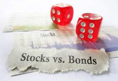 Stocks or Bonds Stock Photos