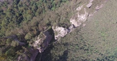 Three Sisters Echo Point at Katoomba. Stock Footage