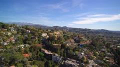 Glendale aerial II Stock Footage