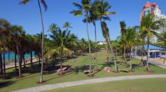 Tropical Park Miami Stock Footage