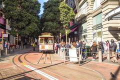 Streetcar in San Francisco Stock Photos