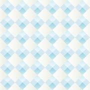 Pattern with alternating diamonds white and blue Stock Illustration