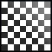 Black and white chessboard Stock Illustration