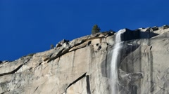 The Famous Yosemite National Park Stock Footage