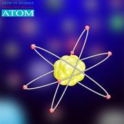 ATOM ENERGY - stock illustration