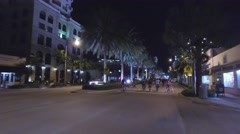 Critical Mall Miami coral gables - stock footage