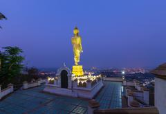 Wat Phra That Kao Noi Temple Nan, THAILAND. Stock Photos