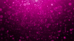 Valentines Day background Stock Footage