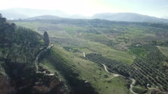 Stock Video Footage of 4K, Beautiful lookout in Ronda, Andalusia, Spain