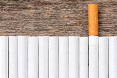 Stock Photo of Cigarette addiction concept.