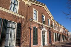 Main building of the former university of Franeker - stock photo