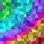 Multicolor rectangle mosaic vector background - stock illustration