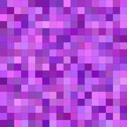 Purple color square mosaic background - stock illustration