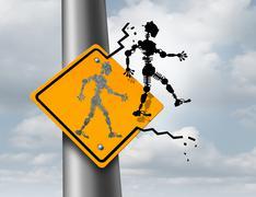 Robotics Technology Stock Illustration
