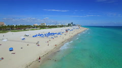 Miami Beach vacation hotspot - stock footage