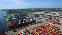Port of Palm Beach and FPL Stock Footage