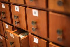 Filing drawers Stock Photos