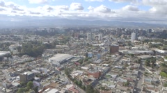 Guatemala City Aerial - stock footage