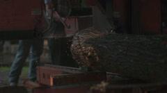 Belt Saw - Phantom Miro Stock Footage