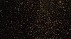 Sawdust Falling - Phantom Miro - stock footage