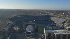 Braves Stadium Atlanta Ga Stock Footage