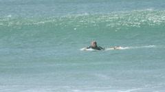 Nicaragua Surfing Stock Footage