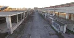MILAN // Abbandoned Industry // Aerial Footage - Riprese Aeree // 4K Stock Footage