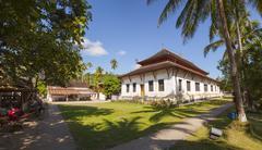 Temple in Luang Prabang panorama Stock Photos