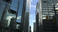 Toronto's downtown Financial Business District, Canada - stock footage
