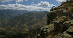 Hells Canyon from near Hat Point, Hells Canyon National Recreation Area, Oregon Stock Footage