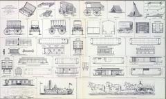 Supply wagons, cook wagon Kuvituskuvat