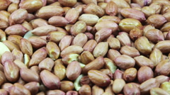 Peanut in the Skin Rotating Stock Footage
