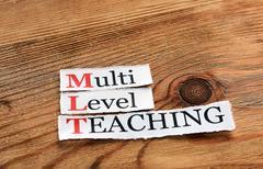 MLT- Multi Level Teaching Stock Photos